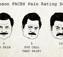 Swanson FACE Pain Rating Scale by ThePencilClub