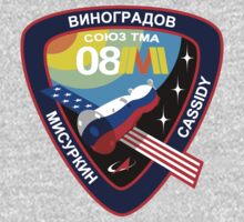 Russian Mission Patch- Soyuz TMA 08 M  by cadellin