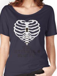 Bring Me The Horizon Rib Heart Women's Relaxed Fit T-Shirt