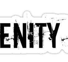 Serenity Now Sticker