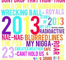 2013 collage by lyricsbykailynn