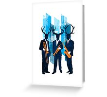 Horn Section Greeting Card