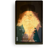 Dumbledore. Harry Potter, Azkaban, Goblet of fire, Quote, Wise, Wiseman, Wisdom, Rowling, Wizard, Hogwarts Canvas Print
