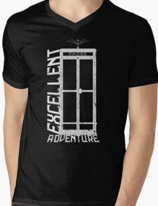 Excellent Adventure Mens V-Neck T-Shirt
