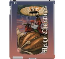 Steampunk Santa Claus iPad Case/Skin