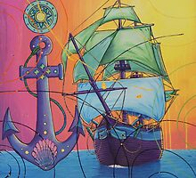 The Universal Pirate Ship #81 by Nick Gibson