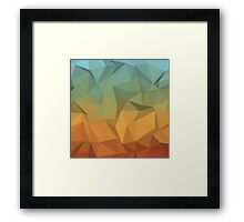 Geometric Panel Framed Print