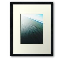 He Walked into the Light  Framed Print