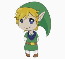 Chibi Link, Warrior of Hyrule Kids Tee