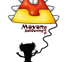 Mayan goes ballooning by chrissymcyoung