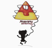 Mayan goes ballooning Baby Tee