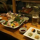 Dinner at an Onomichi restaurant by Glen O'Malley