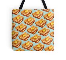 Buttered Toast Pattern Tote Bag