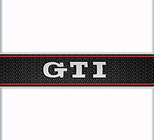 GTI Phone & iPad case - white by Benjamin Whealing