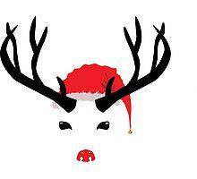 Cristmas reindeer Photographic Print