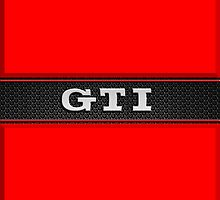 GTI Phone & iPad case - red by Benjamin Whealing