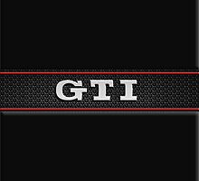 GTI Phone & iPad case - black by Benjamin Whealing