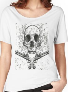 Skull and Pistols Women's Relaxed Fit T-Shirt