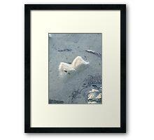 Minute Dune Framed Print