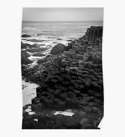 Giant's Causeway Northern Ireland Poster