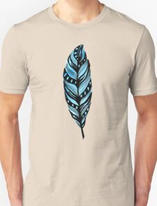 Soaring Blue Feather T-Shirt