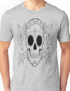 Fashion Skull with cross Unisex T-Shirt