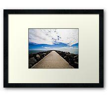 Cottesloe Pier Framed Print