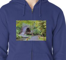 Japanese Tea Garden Zipped Hoodie