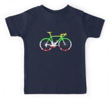 Bike Tour de France Jerseys (Horizontal) (Big)  Kids Tee