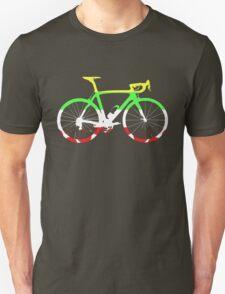 Bike Tour de France Jerseys (Horizontal) (Big)  Unisex T-Shirt
