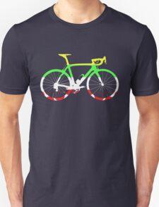 Bike Tour de France Jerseys (Horizontal) (Big)  T-Shirt