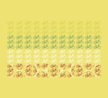 Bike Tour de France Jerseys (Horizontal) (Small) Baby Tee