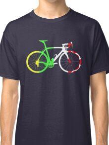 Bike Tour de France Jerseys (Vertical) (Big)  Classic T-Shirt