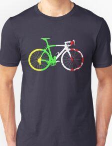 Bike Tour de France Jerseys (Vertical) (Big)  T-Shirt