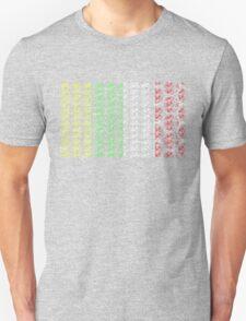 Bike Tour de France Jerseys (Vertical) (Small) T-Shirt