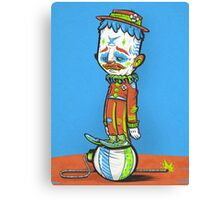 CLOWN FROWN (POSTER) Canvas Print