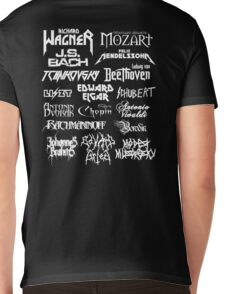Heavy Metal-style Classical Composers Mens V-Neck T-Shirt