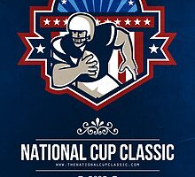 American Football National Cup Classic Poster by patrimonio