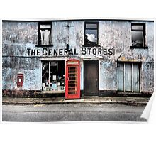 General Stores, Pembrokeshire Poster