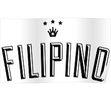 Filipino King Sun Crown by AiReal Apparel Poster