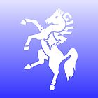 Gillingham Football Club horse case by Kyle Pont