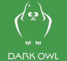 Dark Owl (Science Fiction) Kids Clothes