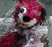 Pink Teddy Bear in evidence bag @ TV serie Breaking Bad by Gabriel T Toro