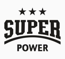 Super Power (Black) by MrFaulbaum