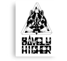Bavely & Higher Canvas Print