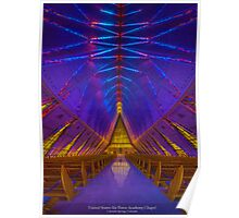 United States Air Force Academy Chapel Poster