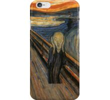 Edward munch - The Scream iPhone Case/Skin
