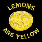 Lemons Are Yellow by Will Ruocco
