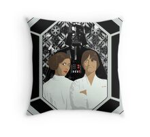 Star Wars - A Family Portrait Throw Pillow