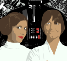 Star Wars - A Family Portrait Sticker